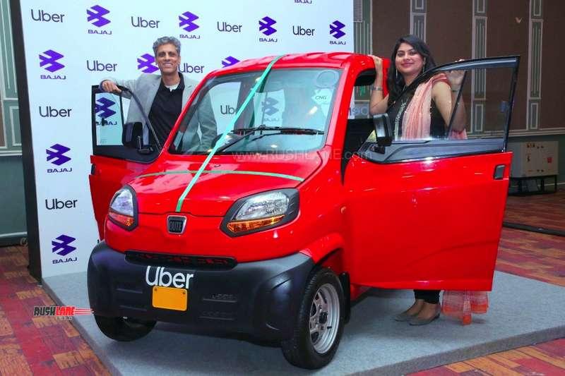 Uber Bajaj tie-up