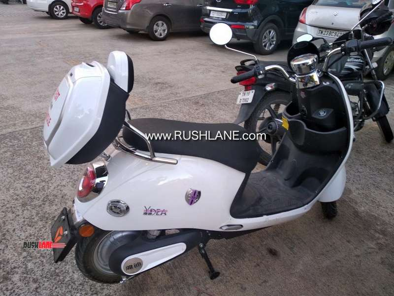 Yadea electric scooter spied in India - Imported from China