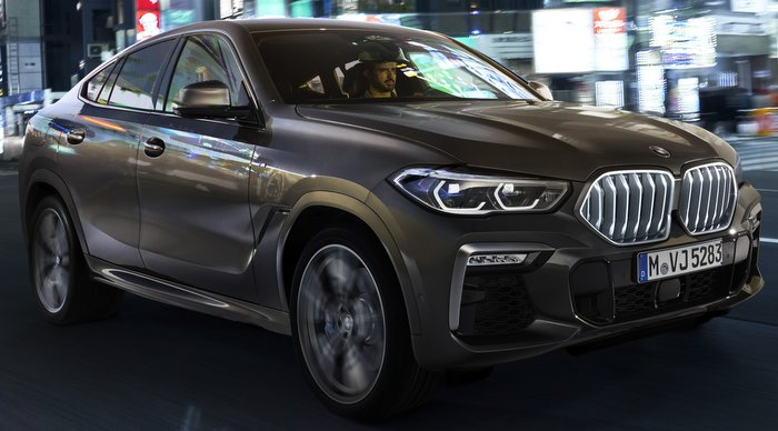 BMW Plant Spartanburg >> 2020 BMW X6 with the option of an illuminated grille