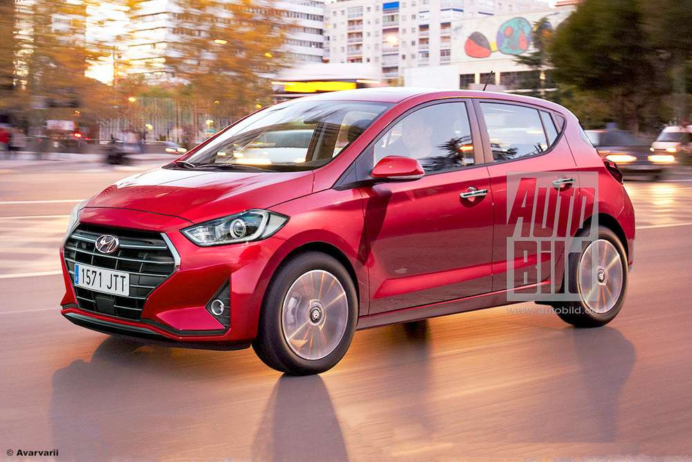 New Hyundai i10 Grand with Fluidic 2 design launch soon - Render