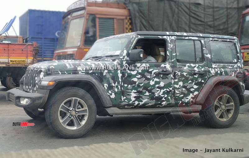 2020 Jeep Wrangler: News, Diesel, PHEV, Price >> 2020 Jeep Wrangler Bs6 Spied In Detail Launch On 9th August