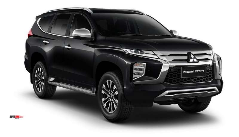 Mitsubishi Pajero Sport facelift launched in Thailand – 1.3m Baht (Rs 29 lakhs)
