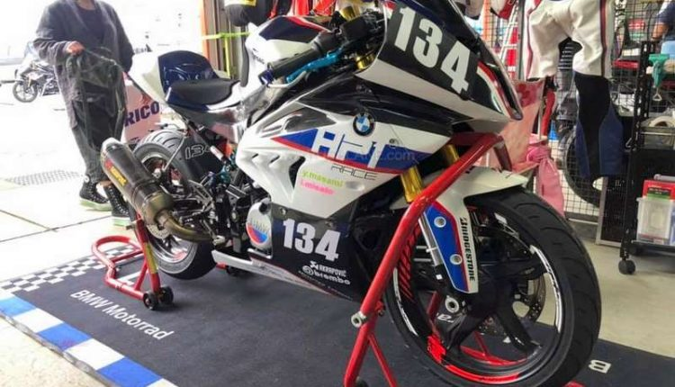 BMW G310R fully faired race machine