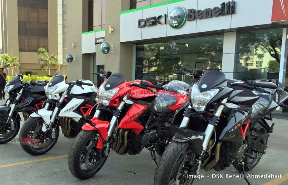 DSK Benelli Bikes online auction
