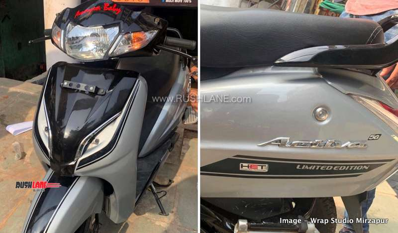 Honda Activa 3G modified to look like New Activa 5G for Rs 3,000 - RushLane thumbnail