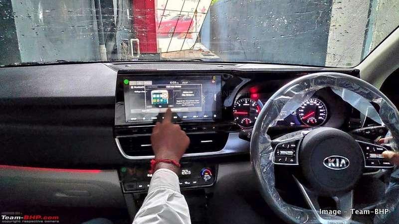Bose Sound System >> Kia Seltos beige interiors, seats, AC with perfume, LED ...