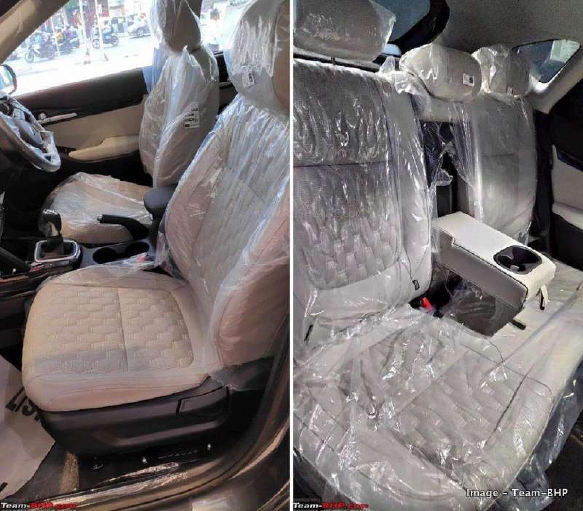 Kia Seltos Beige Interiors Seats Ac With Perfume Led Drl On