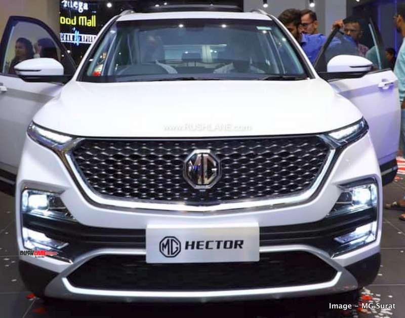 MG Hector bookings close