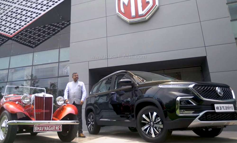MG Hector 1st owner