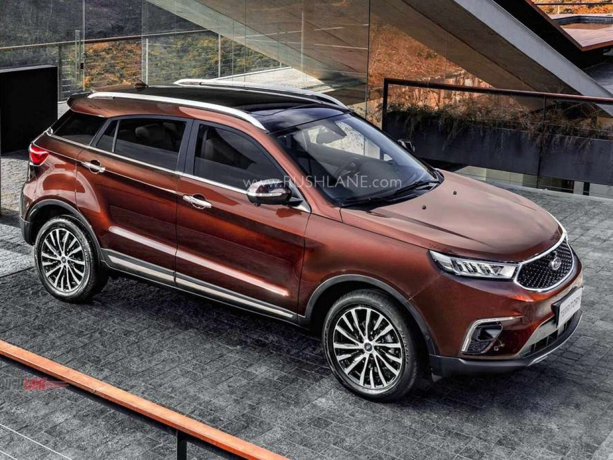 New Ford Territory Suv Rivals Mg Hector New Photos Video Revealed