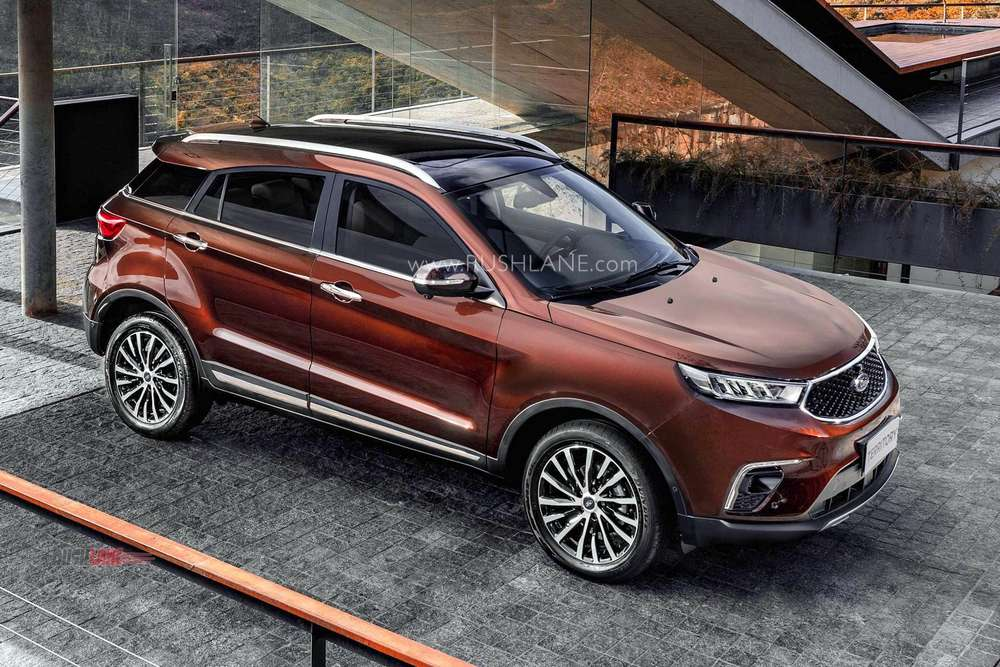 New Ford Territory Suv Rivals Mg Hector New Photos Video