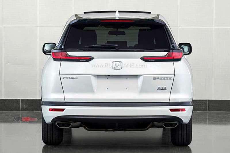 2020 Honda Breeze SUV is bigger than CRV - Gets front ...