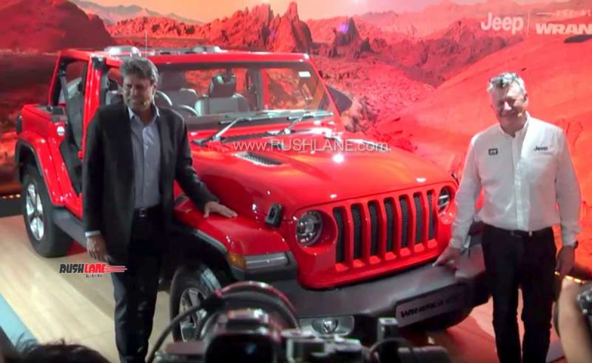 2020 Jeep Wrangler Suv Launch Price Rs 64 L Petrol 2 L 4 Cyl Engine