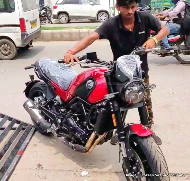 Benelli Leoncino 500 launch price Rs 4 79 lakhs - Video