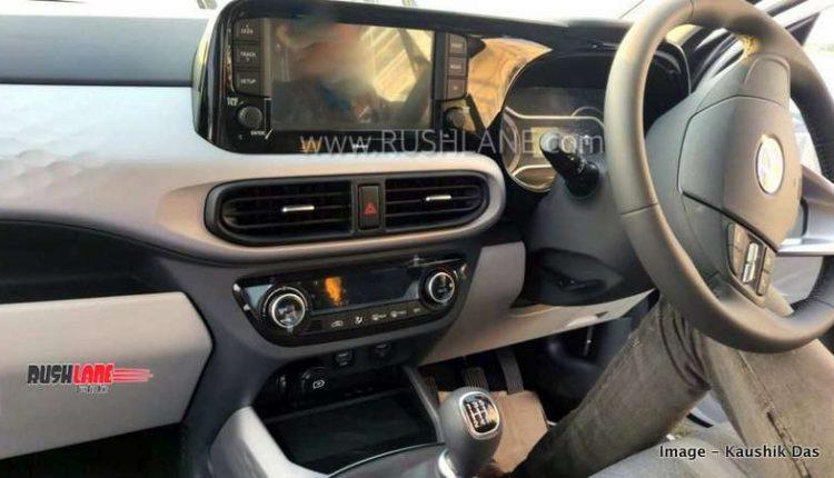 Red White And Blue Auto Sales >> Hyundai Grand i10 NIOS AMT spied - Petrol gets dual tone ...