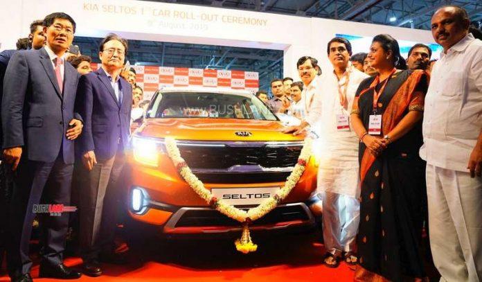 Kia Seltos production starts India