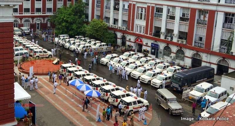 Mahindra Tuv300 Joins Kolkata Police 58 Suvs To Help