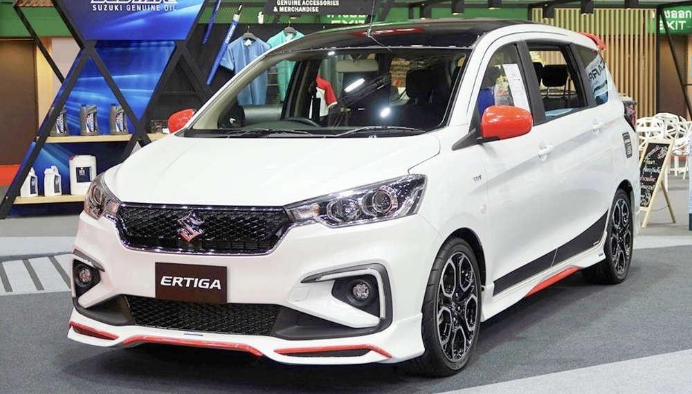 Maruti Ertiga Sport Inspired By Swift Sport Unveiled