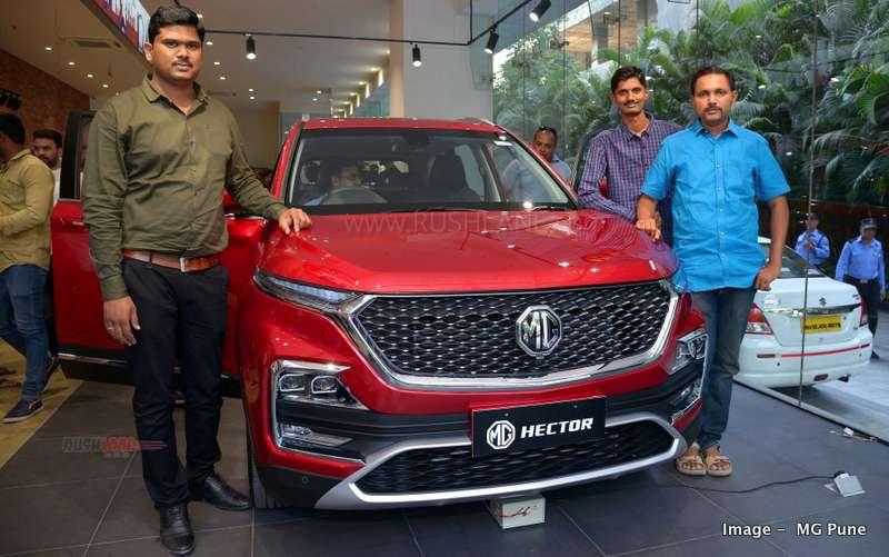 MG Hector sales success