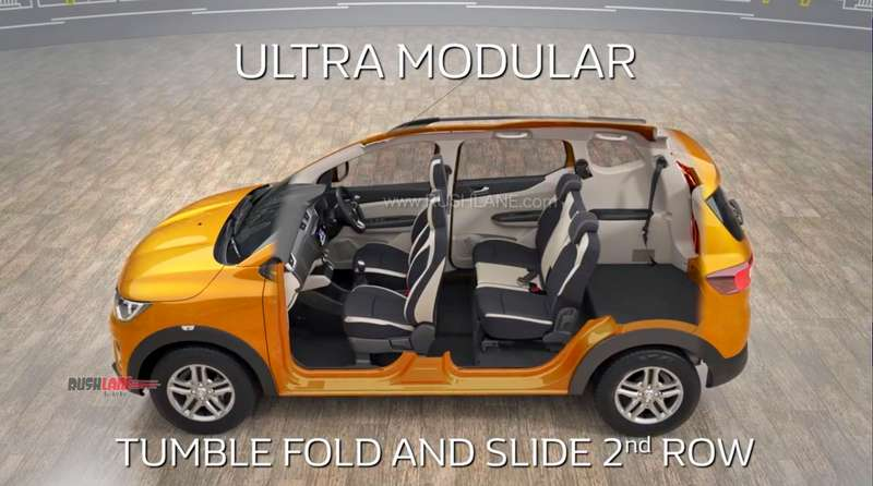 Renault Triber Interior Space All 4 Seating Modes Explained Video