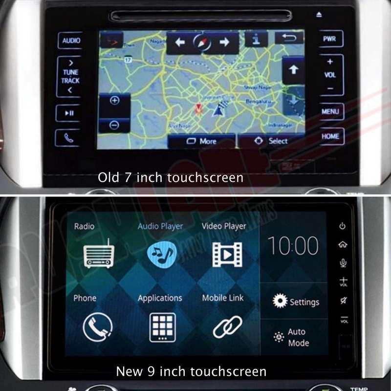 Toyota Innova touchscreen