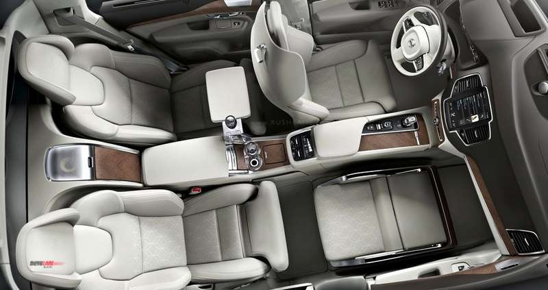 8 Seater Vehicles >> Volvo XC90 SUV ultra luxury 3 seater variant - Launch ...
