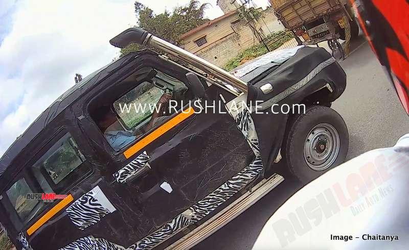 2020 Force Gurkha SUV 4x4