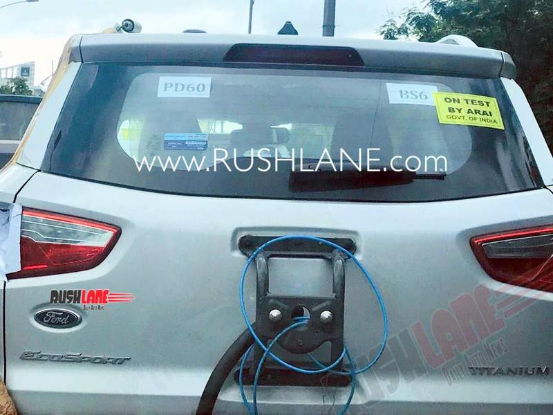 2020 Ford EcoSport spied
