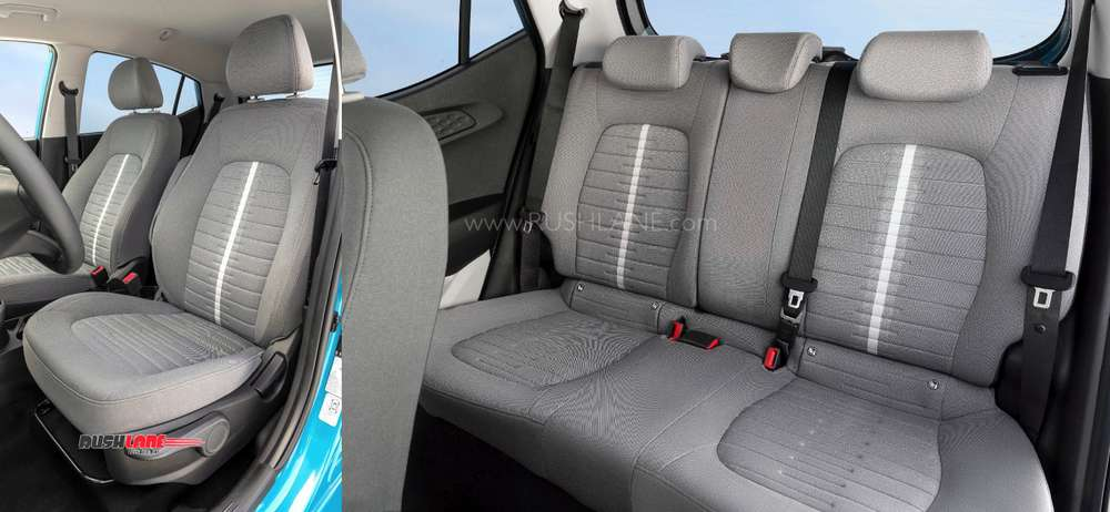 Seats with adjustable headrests for i10 in Europe.