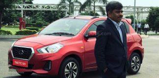 Datsun Go CVT India