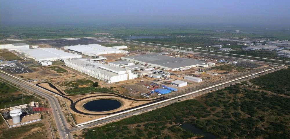 Ford Gujarat plant.