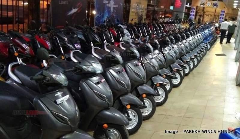 Honda Activa sales