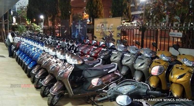 Honda to buy back BS4 Activa, CB Shine, Dio, etc from dealers