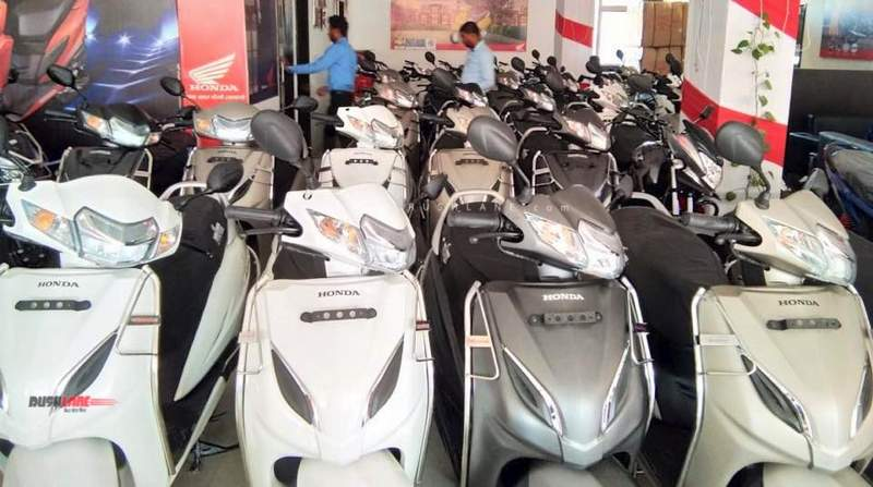 Honda Activa registration fine
