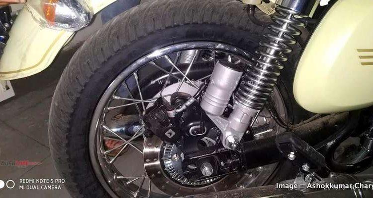 Jawa dual ABS set-up