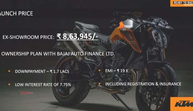 KTM Duke 790 price India