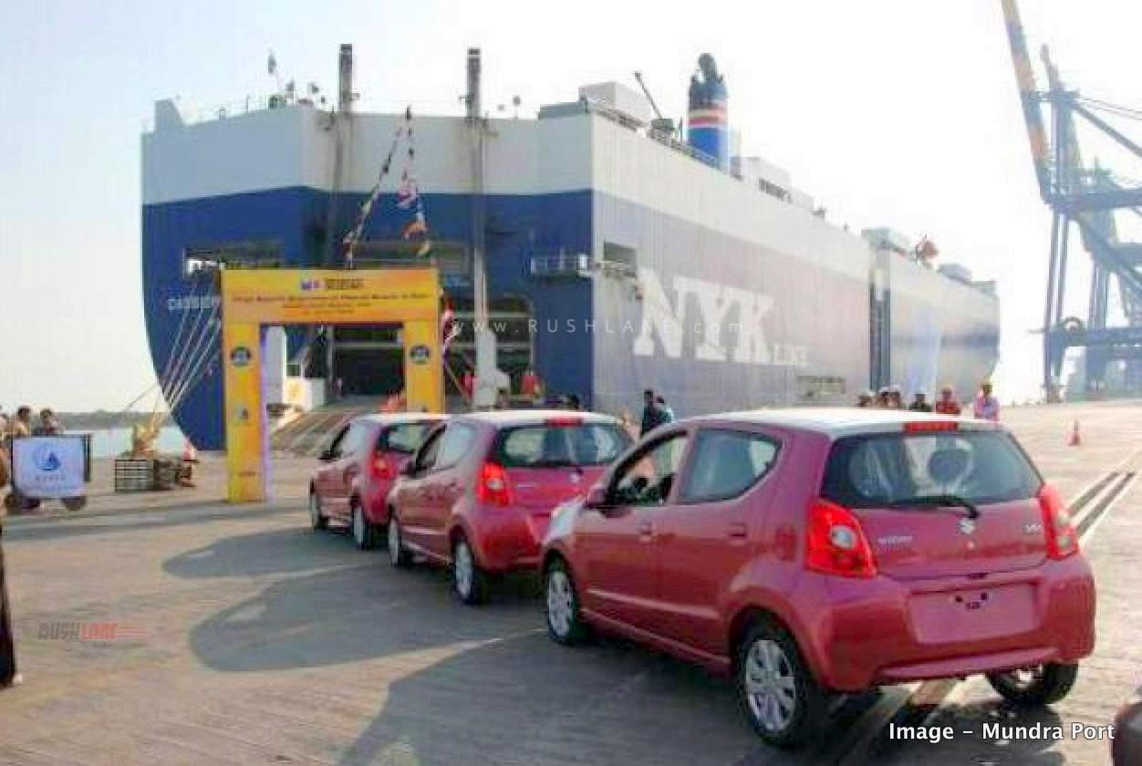 Maruti exports Mundra port