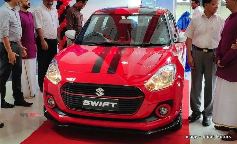 Maruti Swift modified india
