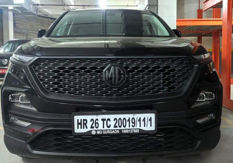 MG Hector black tape Wrap 3M