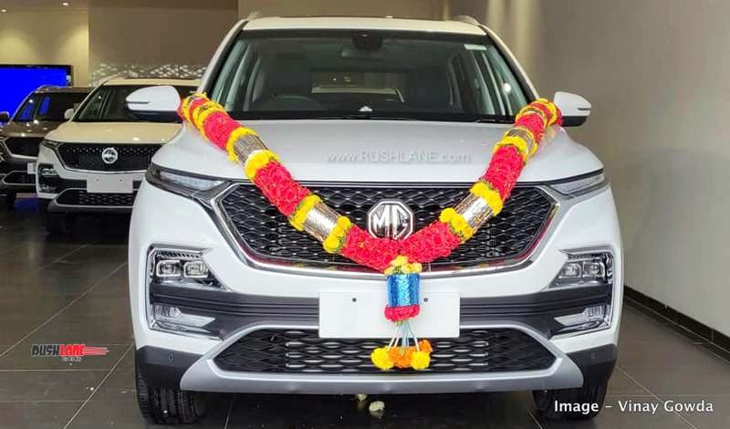 MG Hector bookings open