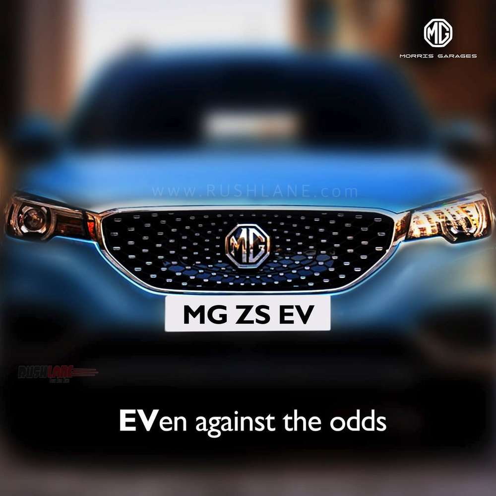MG ZS electric SUV India