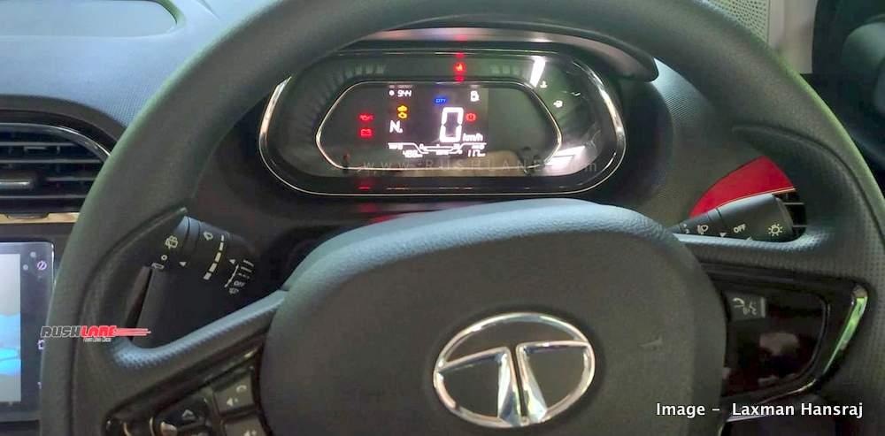 New Tata Tiago, Tigor digital speedometer