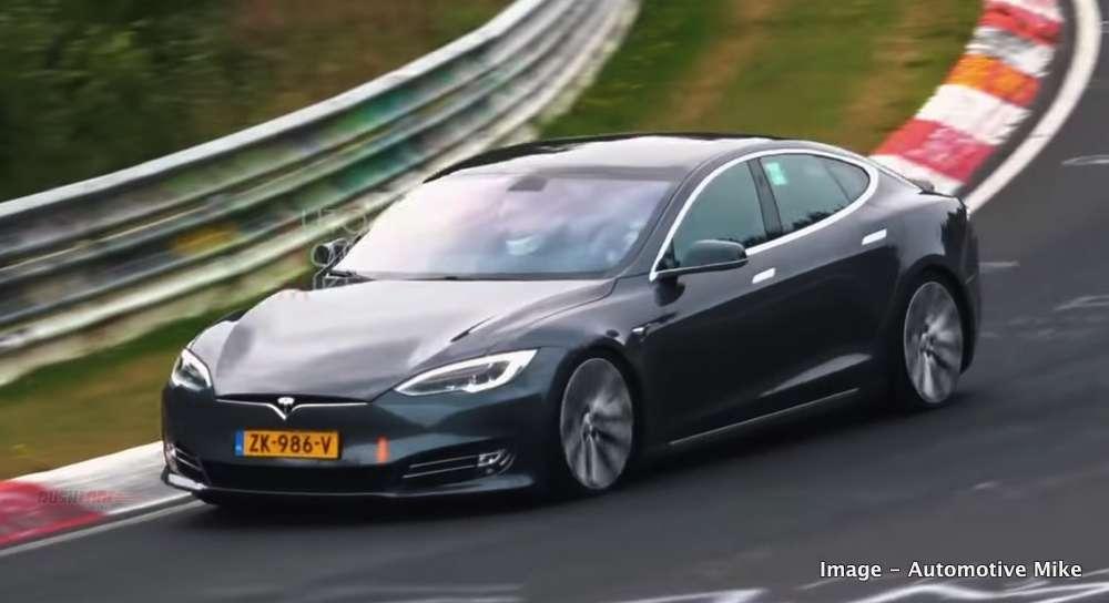 Tesla beats Porsche