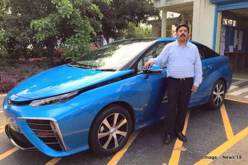 Toyota Mirai FCV India