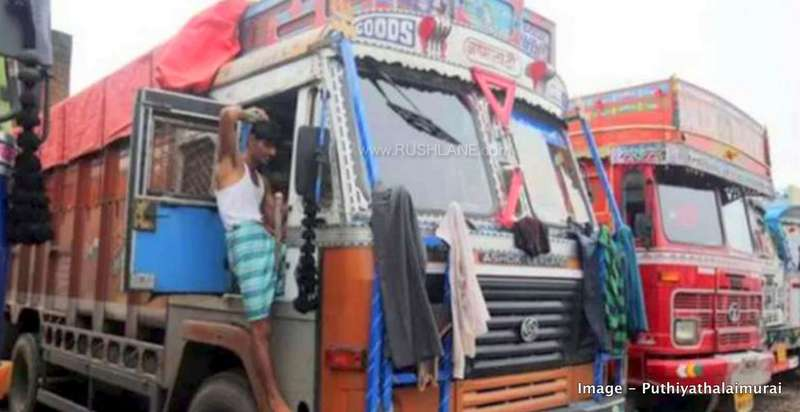 Truck driver fine Rs 2 lakhs.