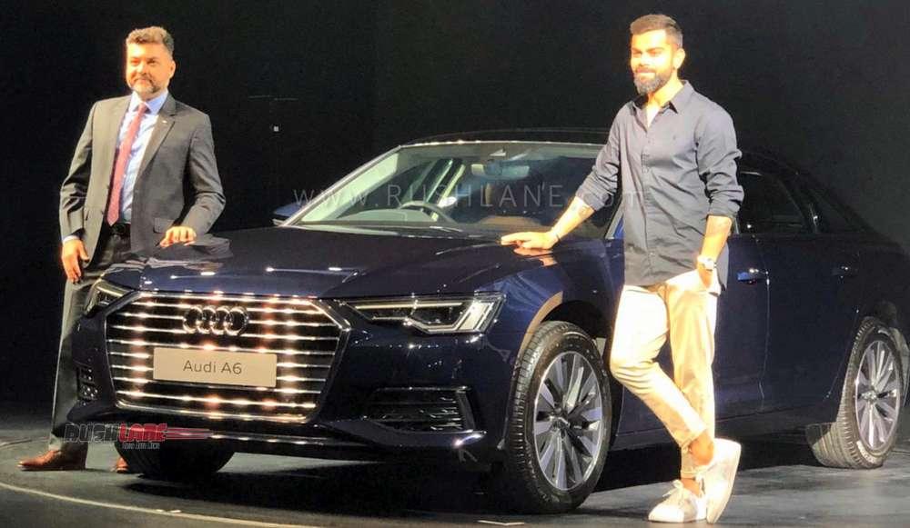 Audi A6 launched Virat Kohli