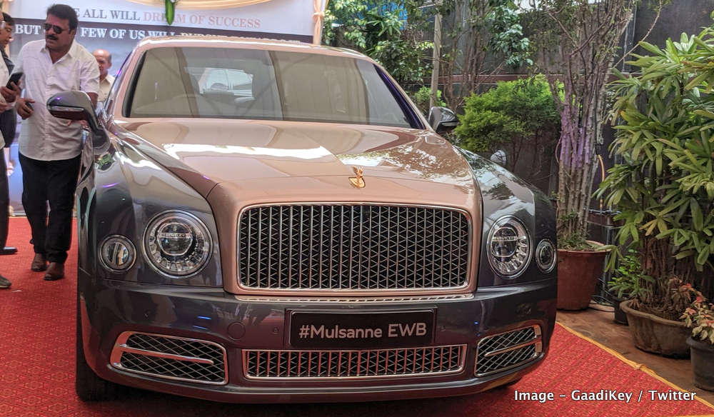 2019 Bentley Mulsanne EWB India