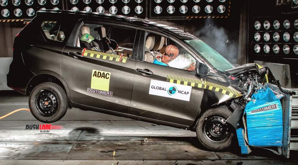 2019 Maruti Ertiga crash test