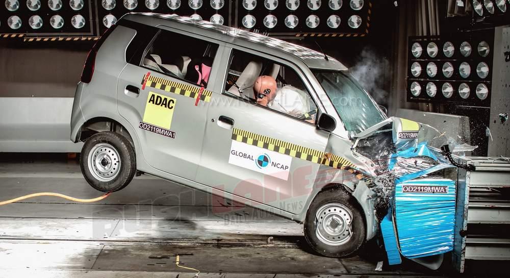 2019 Maruti WagonR safety rating