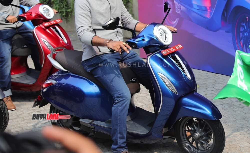 2020 Bajaj Chetak electric scooter